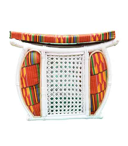 traditional queen mother stool