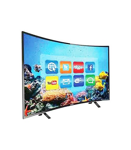 NASCO 65″ UHD CURVED DIGITAL SATELLITE TV