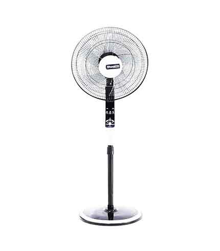 Purchase this NASCO 16 INCHES REMOTE CONTROL STANDING FAN BLACK – NA-FS1690B on Sokocentre®
