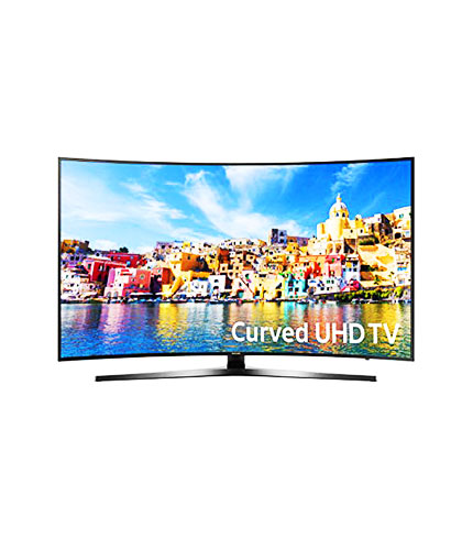 SAMSUNG 55″ 4K SMART CURVED TV