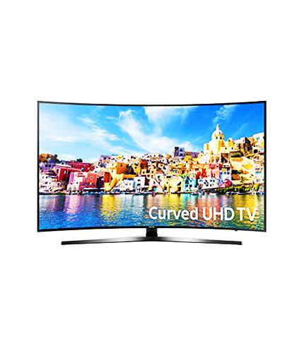 SAMSUNG 55″ 4K SMART CURVED TV