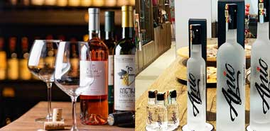 wines and liquor for your parties