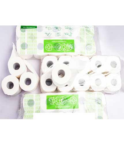 Antibacterial toilet tissue