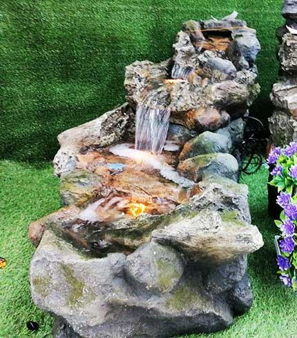 stream flow fountain