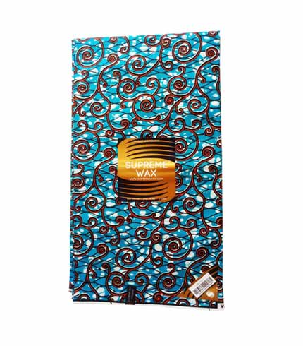 African Print Cloth - Blue
