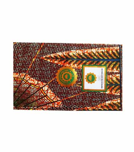 President Holland African Print Cloth - Brown