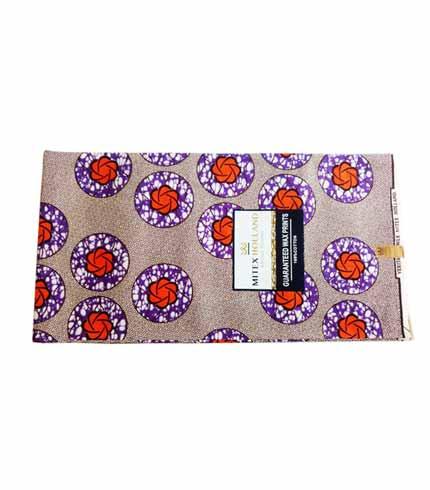 Mitex African Print Cloth - Purple