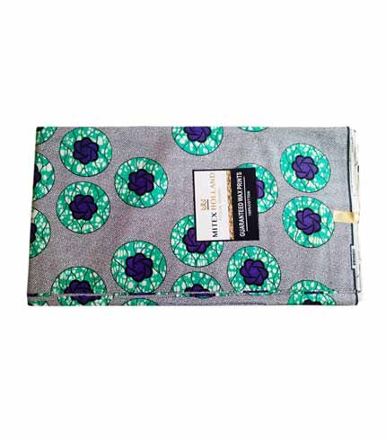 Mitex African Print Cloth - Sea Blue