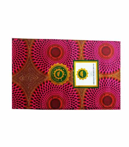 President Holland African Print Cloth - Violet
