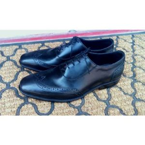 Black Classy Leather Shoe