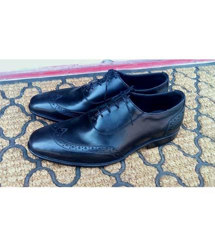 Black Classy Leather Shoe