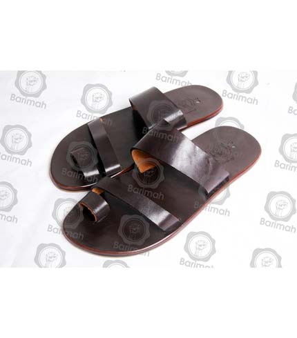 Classy Leather Sandals - Brown