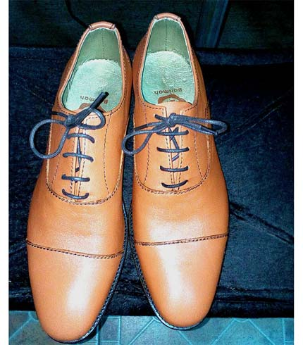 Executive Leather Shoe - Brown