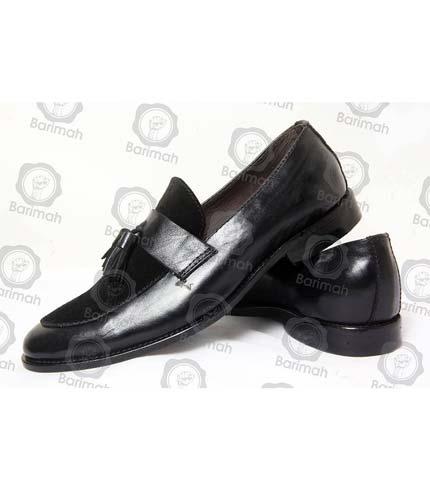 Classy Black Tassel Shoes
