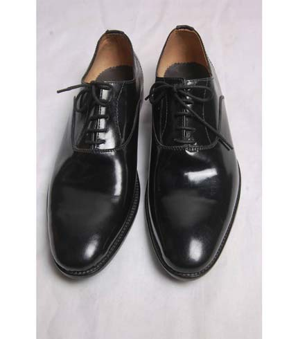 Classy Leather Shoes - Black