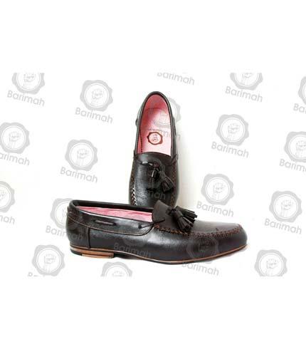 Classy Tassel Shoes - Black