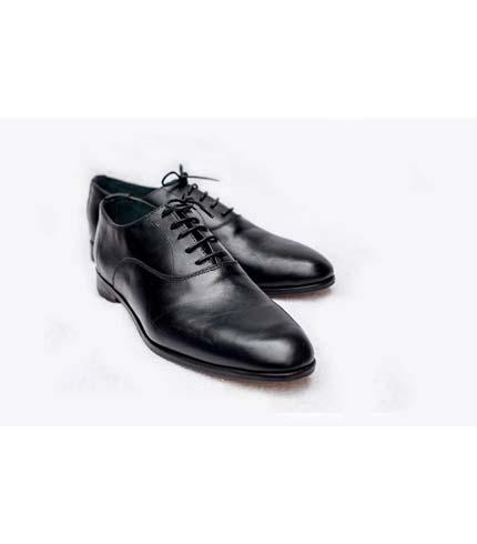 Executive Leather Shoe - Black