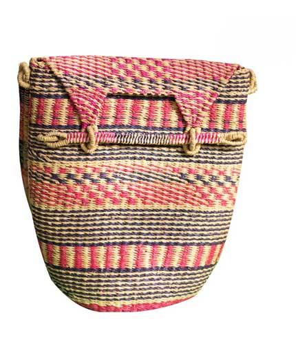 Multicoloured Hand Woven Ladies Bag