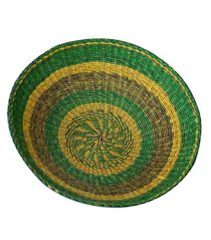 Green & Yellow Storage Basket