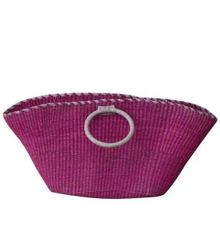 Woven Handbag - Violet