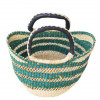 Hand Woven Ladies Bag - Green Design