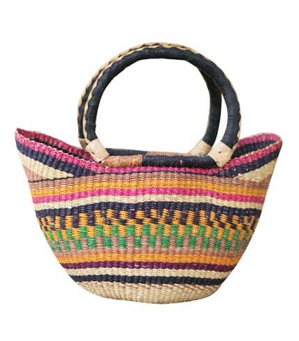 Hand Woven Ladies Bag - Multicoloured Design