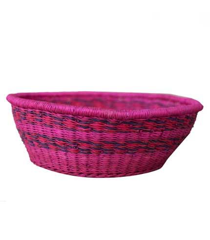 Hand Woven Basket - Violet
