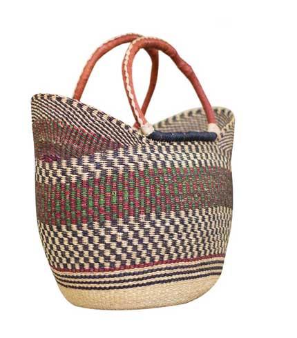 Brown Hand Woven Ladies Bag