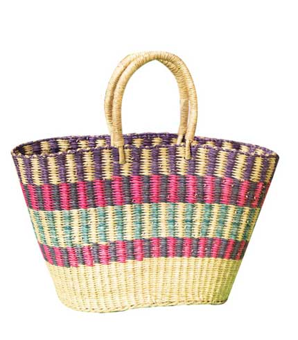 Hand Woven Ladies Bag - Multicoloured