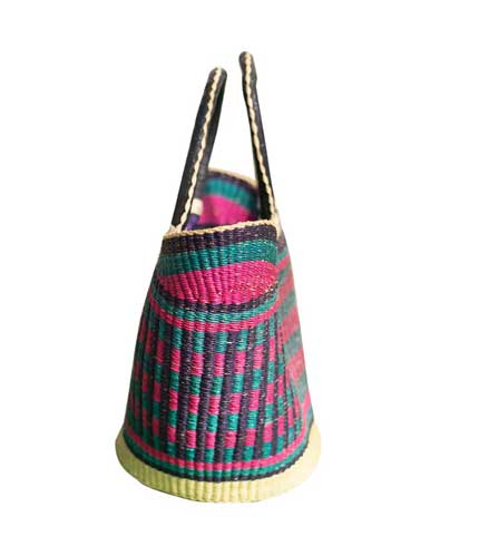 Hand Woven Ladies Bag - Pink