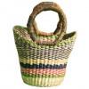 Multicoloured Hand Woven Mini Bag