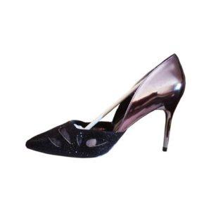 Black & Brown High Heels
