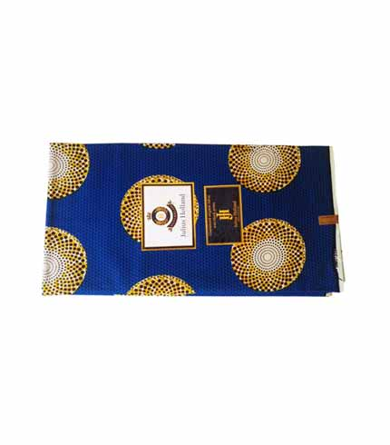 Blue African Print Cloth