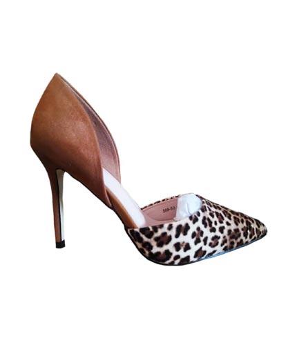 Animal Skin High Heels