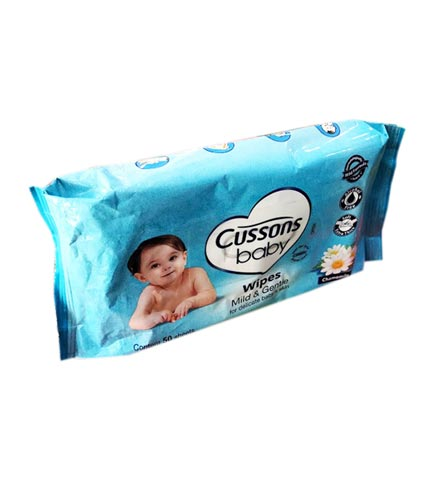Cussons Baby Wipes - Chamomile