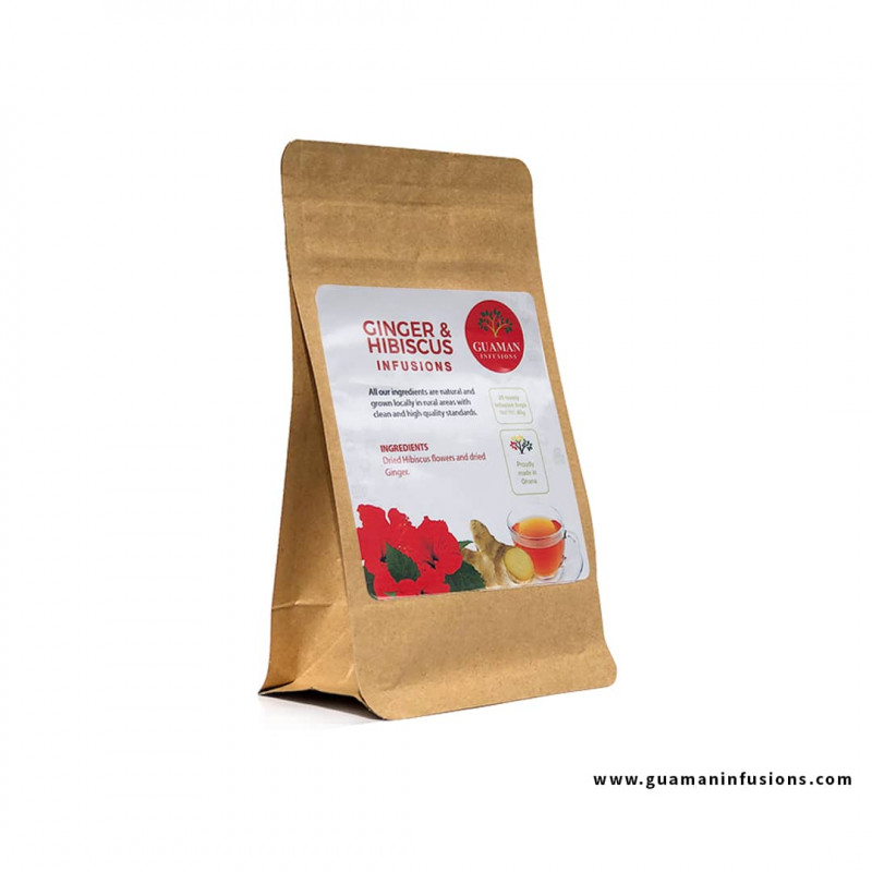 Hibiscus ginger infusion