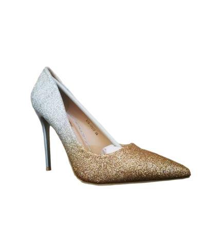 Gold & Silver High Heels
