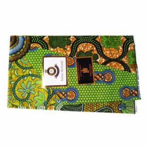 Julius Holland Green African Print Cloth