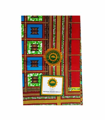 President Holland Multicoloured African Print Cloth