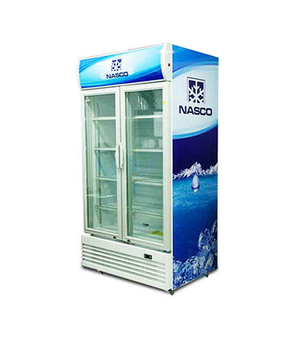 high quality NASCO 1000LTR DISPLAY FRIDGE