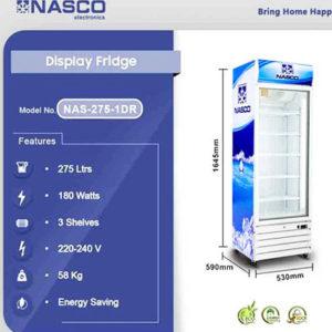 high quality NASCO 275LTR DISPLAY FRIDGE