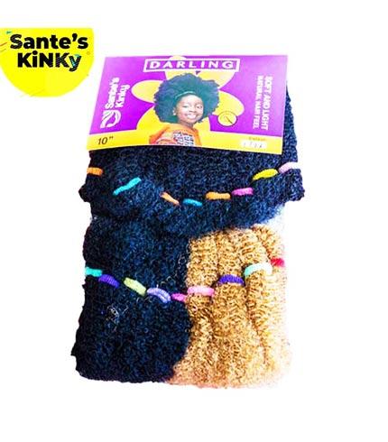 Classic Made in Ghana Sante's Kinky Hair