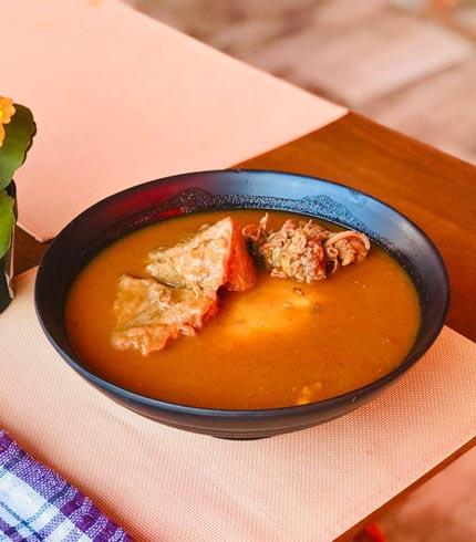 fufu and light soup