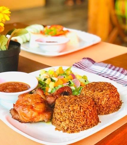 Jollof and Chicken