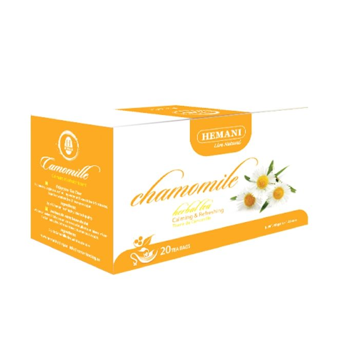 Hemani Chamomile Herbal Tea - 20 Tea Bags