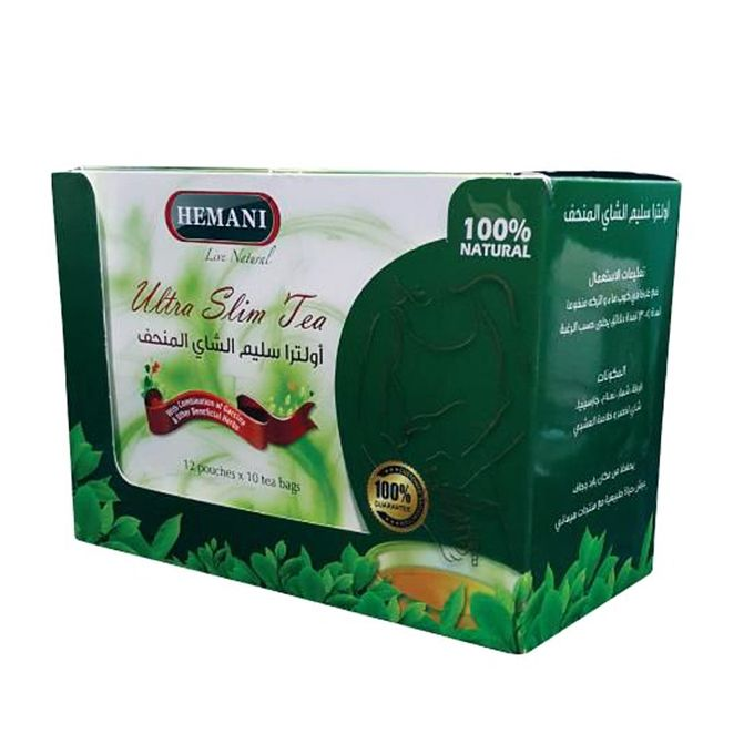 Hemani Ultra Slim Tea - 120 Tea Bags
