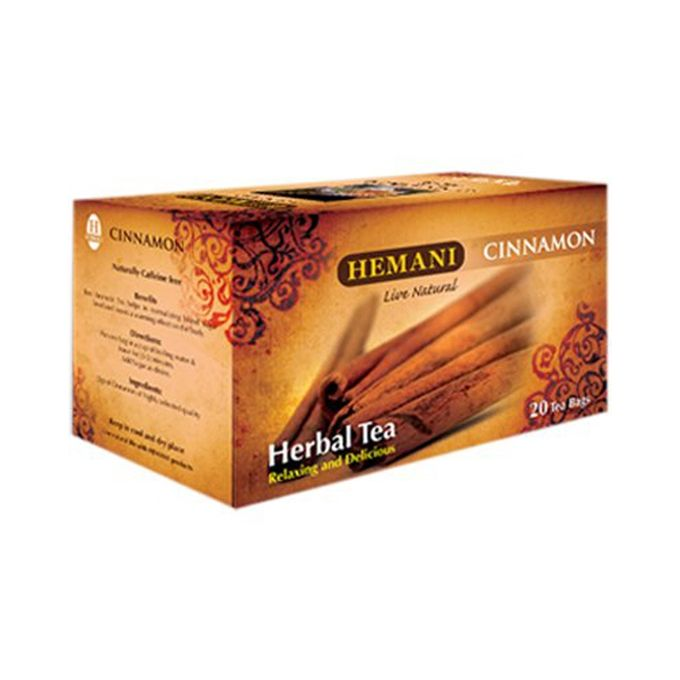 Hemani Cinnamon Herbal Tea - 40g x 20 Tea Bags