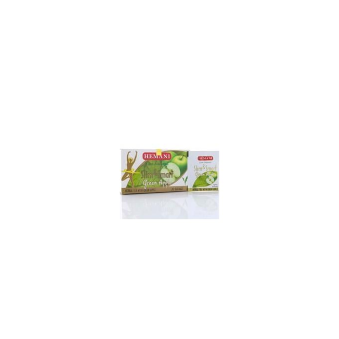 Hemani Slim & Smart Herbal Tea - Green Apple - 40g x 20 Tea Bags