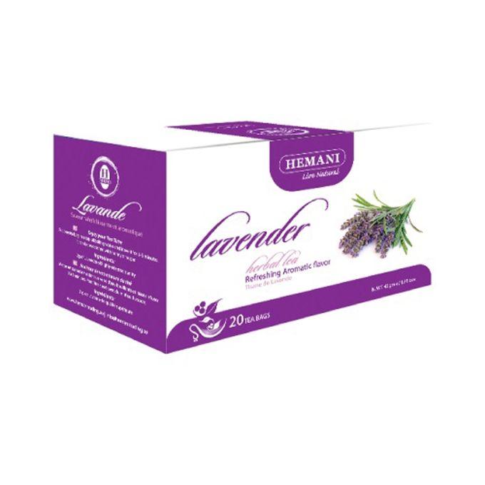 Hemani Lavender Herbal Tea – 40g x 20 Tea Bags
