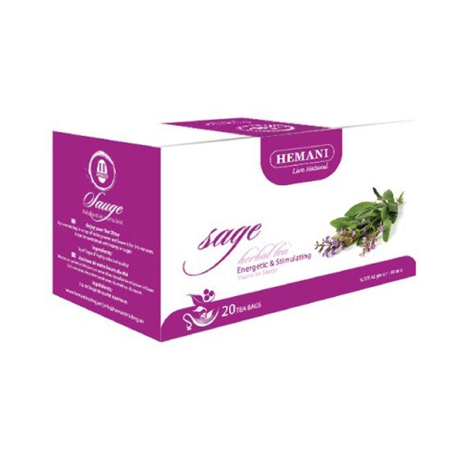 Hemani Sage Herbal Tea – 40g x 20 Tea Bags